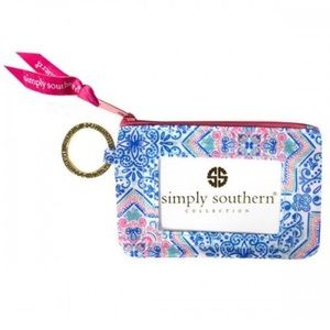 NWT • Simply Southern • Moroccan Key ID Pouch